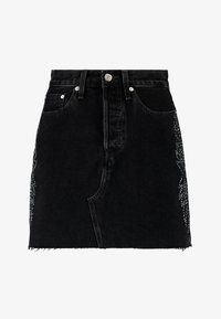 Levi's® - DECON ICONIC SKIRT - A-line skirt - black denim - 4