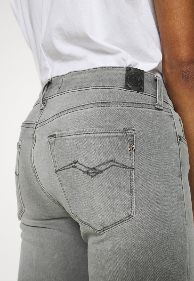 Replay NEW LUZ HYPERFLEX BIO - Jeans Skinny Fit - medium grey/grey denim XROzLQ
