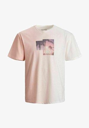 JORNEWSET TEE CREW NECK - T-shirt med print - peachskin