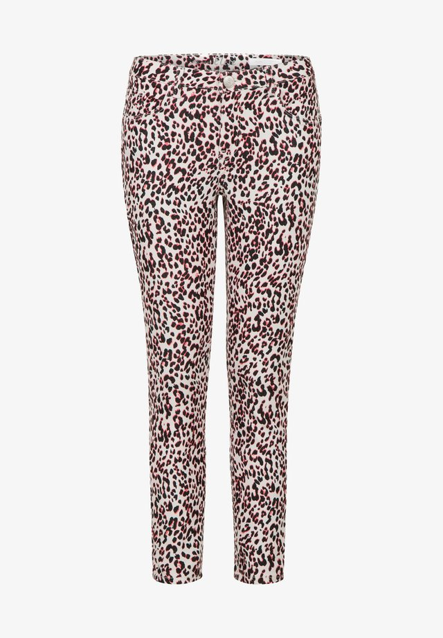 ELISE - Trousers - bright coral