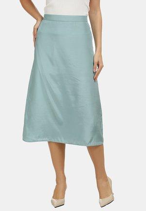 Áčková sukně - türkis