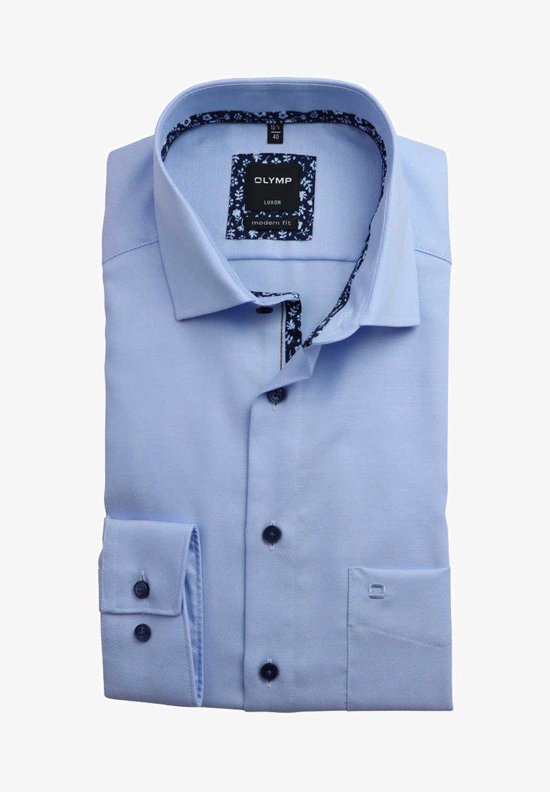 OLYMP - MODERN FIT  - Formal shirt - hellblau