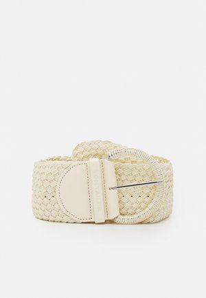 ELLA - Braided belt - sand
