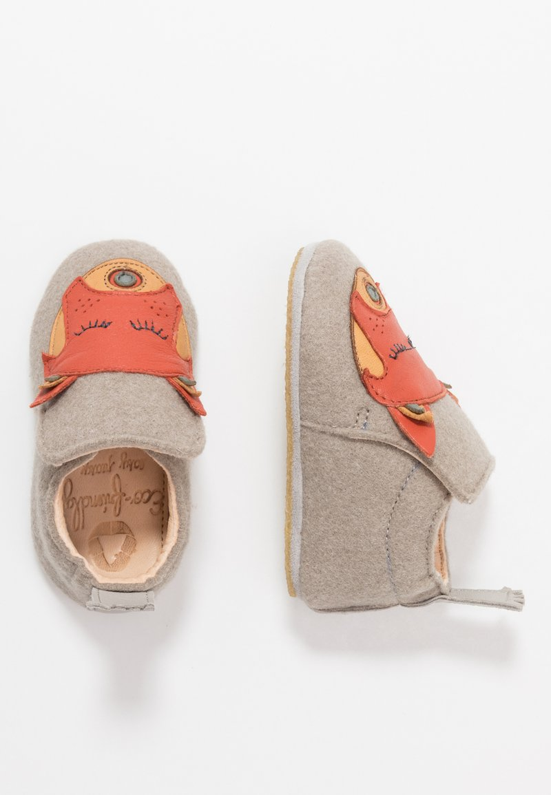 Easy Peasy - DOUBLU/PANDAMY GIFT SET - First shoes - plume/brique