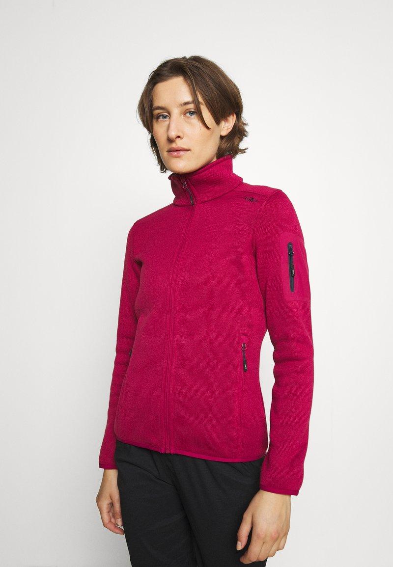 Campagnolo - Fleece jacket - sangria