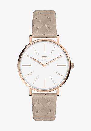 Watch - braun-weiß