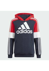 adidas Performance - Jersey con capucha - legend ink/vivid red/white - 2