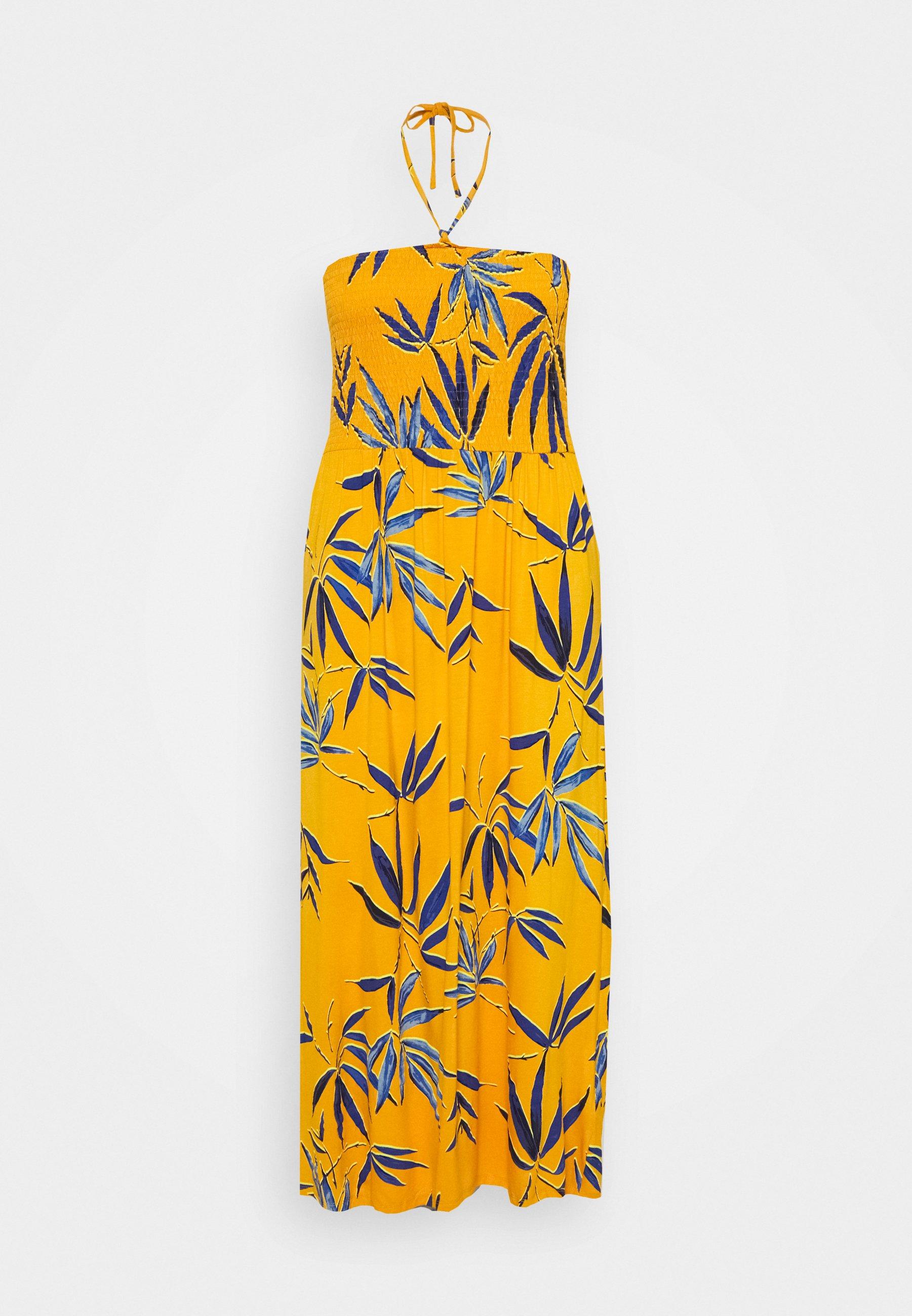 Women SOLID SHIRRED DRESS - Jersey dress
