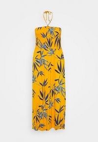 CAPSULE by Simply Be - SOLID SHIRRED DRESS - Robe en jersey - yellow - 0