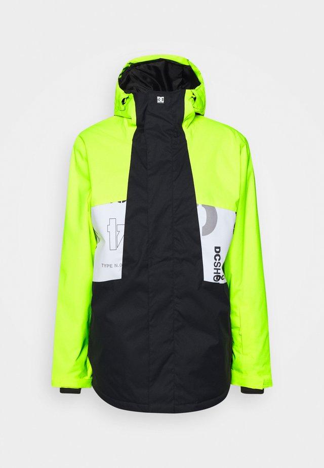 DEFY JACKET - Snowboard jacket - syndicate white