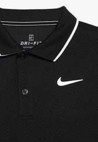 Nike Performance - DRY TEAM - Sportshirt - black/white - 3