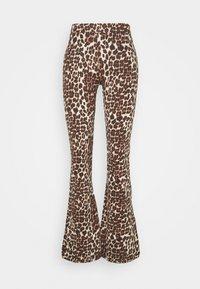 ONLY - ONLLIVE LOVE FLARED PANTS - Leggings - black - 3