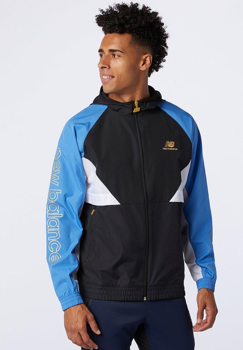 New Balance - NB ATHLETICS  - Summer jacket - faded cobalt