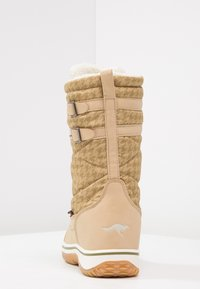 KangaROOS - RIVASKA - Winter boots - beige/green/white - 4