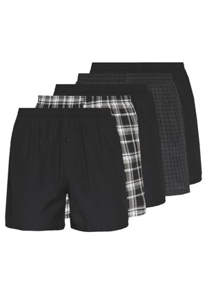 5 PACK - Boxer shorts - black