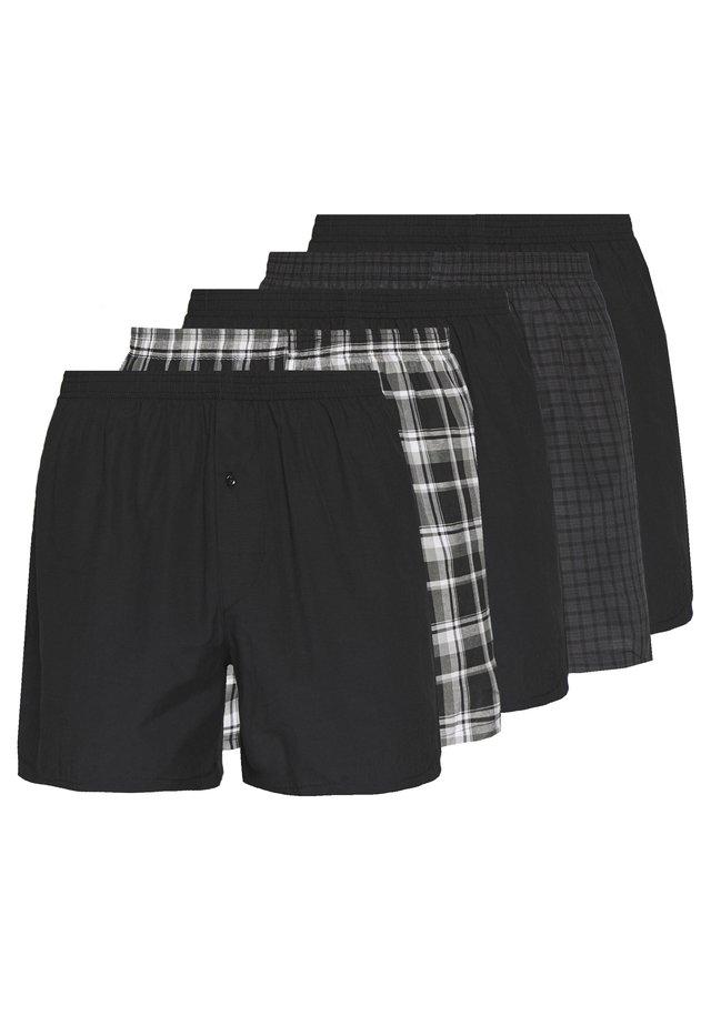5 PACK - Boxershorts - black