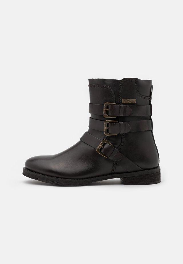 ADRIANE - Kovbojské/motorkářské boty - marron