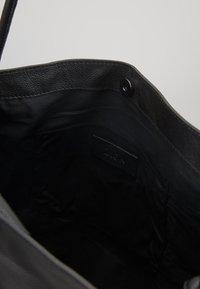 Zign - LEATHER - Handbag - black - 4