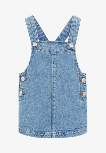 ELVA - Denim dress - středně modrá