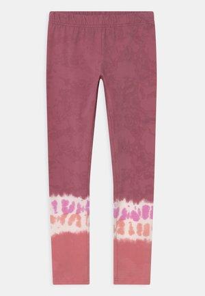 TIE DIE - Leggings - pink