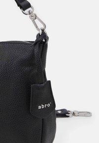 Abro - BEUTEL JUNA SMALL - Käsilaukku - black - 3