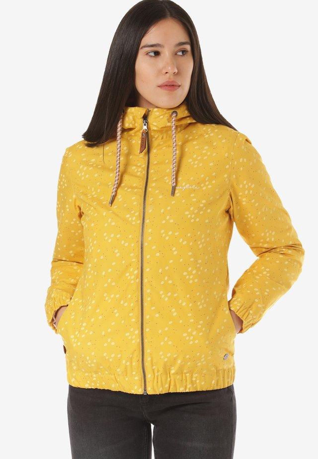 LIBRARY LIGHT - Waterproof jacket - yellow