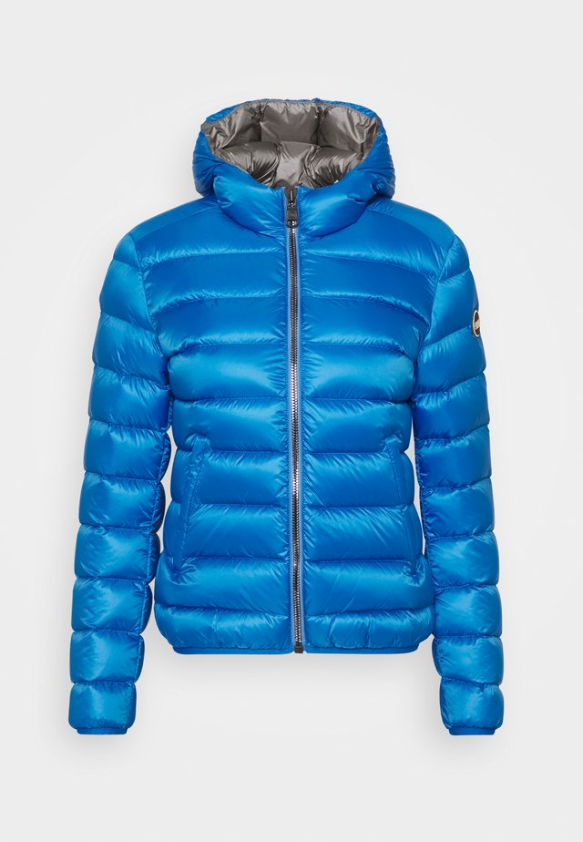 LADIES JACKET - Gewatteerde jas - smurf/dark steel