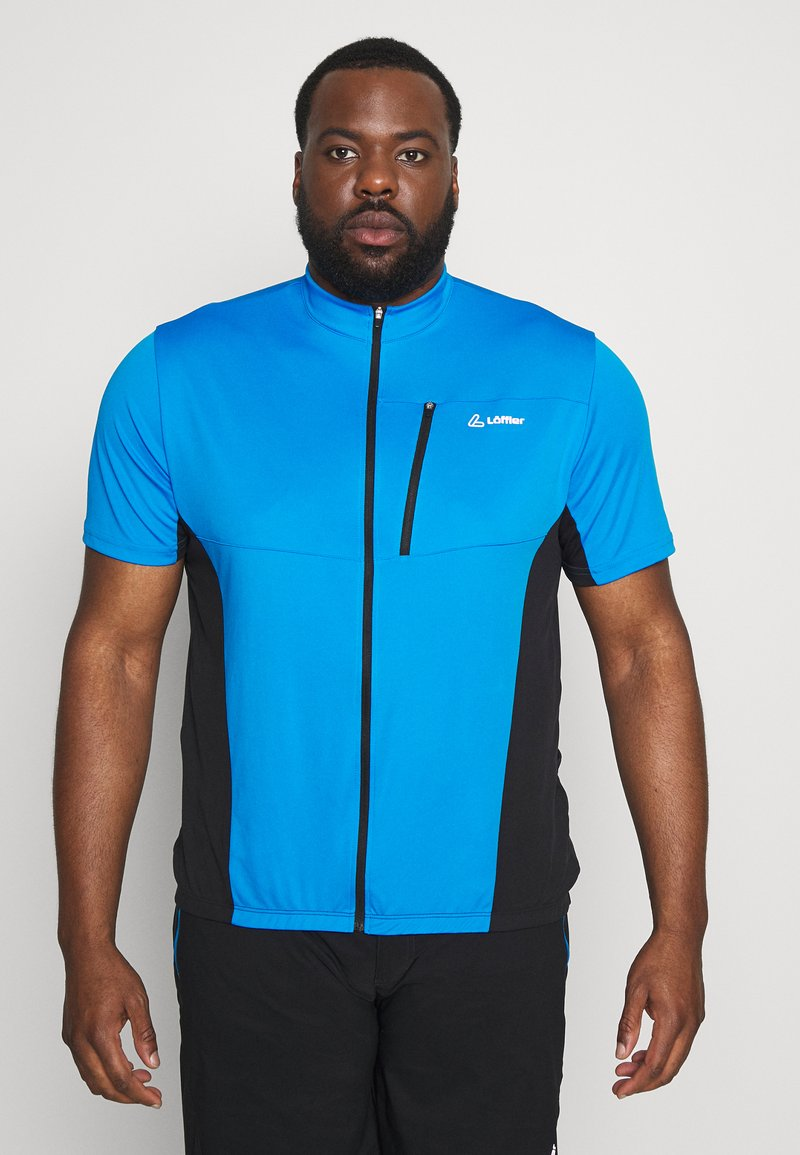 LÖFFLER - BIKE SHIRT ROCKY - T-Shirt print - brillant blue
