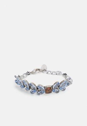 BRACELET BEADS - Armband - light blue/brown