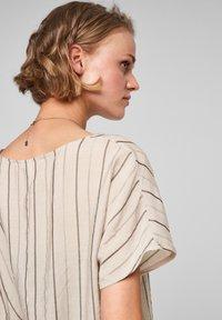 Q/S designed by - Blouse - beige stripes - 4
