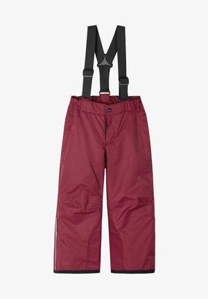 PROXIMA - Snow pants - jam red