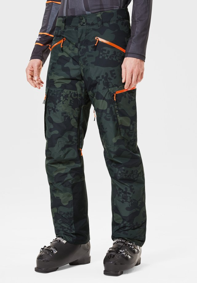 DAMIEN - Pantalon de ski - dark green
