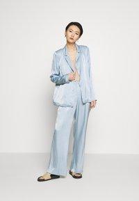 Bruuns Bazaar - SOFIA TELMA PANT - Pantalones - blue mist - 1