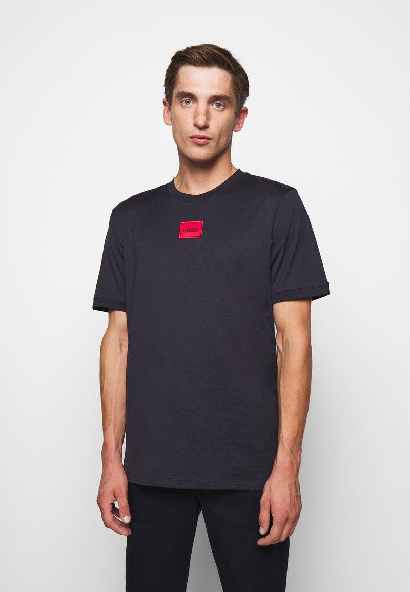 HUGO - DIRAGOLINO - T-shirts basic - dark blue