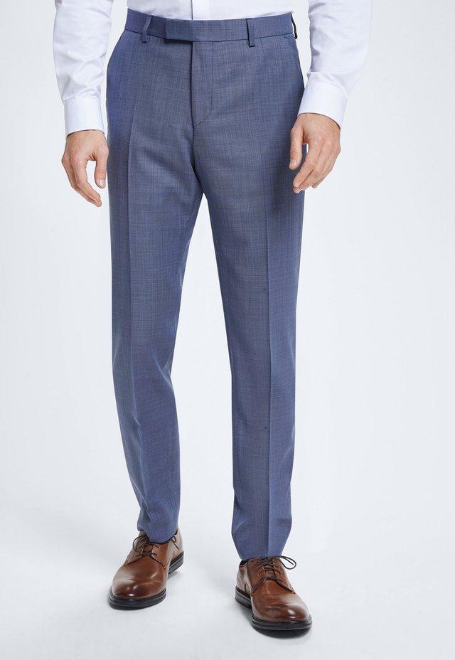 BAUKASTEN JANS - Suit trousers - light blue