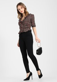 Dr.Denim Petite - MOXY HIGH RISE - Jeans Skinny Fit - black - 1