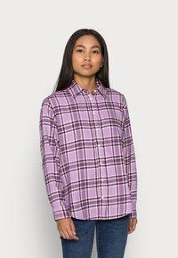 GAP Petite - EVERYDAY - Button-down blouse - purple - 0