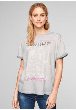 À INSCRIPTION IMPRIMÉE - Print T-shirt - light grey