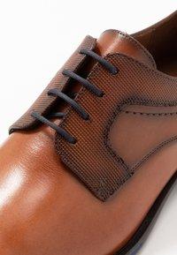 Lloyd - GILBERT - Smart lace-ups - cioccolato/ocean - 5