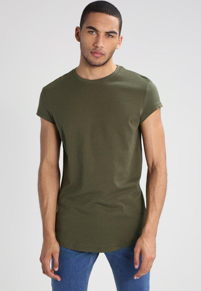 YOURTURN - Basic T-shirt - oliv