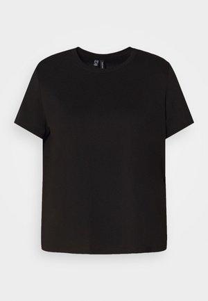 VMEDEN CURVE - Basic T-shirt - black