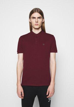 Polo majica - burgundy/kaki