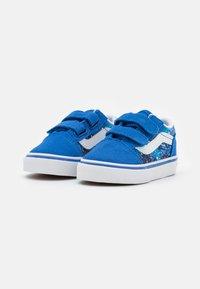 Vans - OLD SKOOL  - Trainers - nautical blue/true white - 1