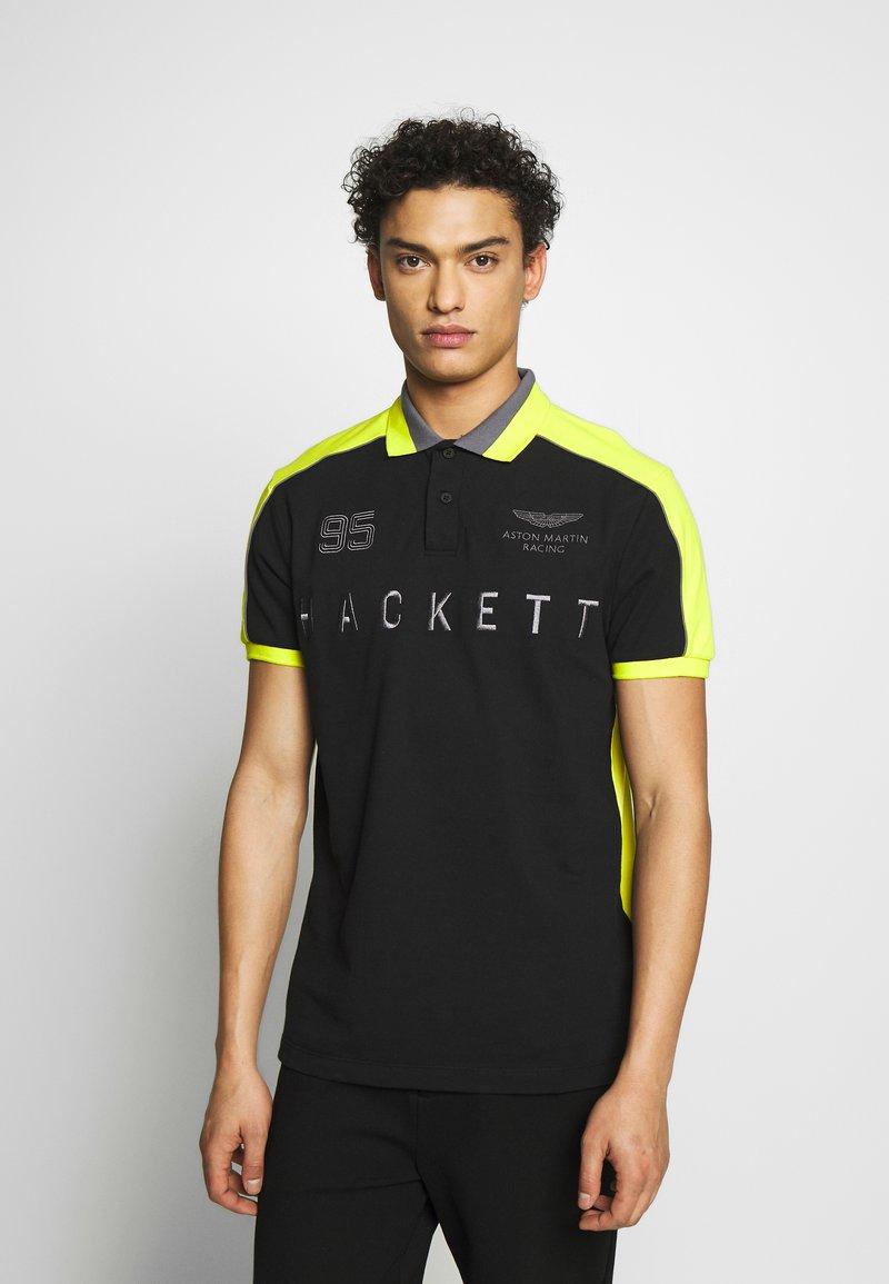 Hackett Aston Martin Racing - Koszulka polo - black/multi