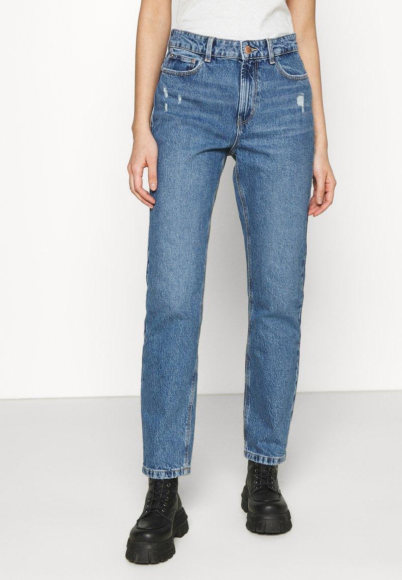 ONLY - ONLEMILY LIFE - Jeans straight leg - medium blue denim