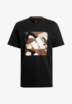 CAMO BOS TEE M - Koszulka sportowa - black