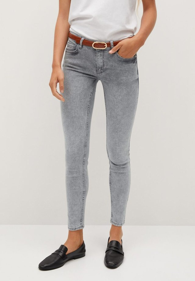 KIM - Jeans Skinny Fit - denim grey