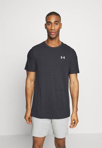T-shirts print - black/mod gray
