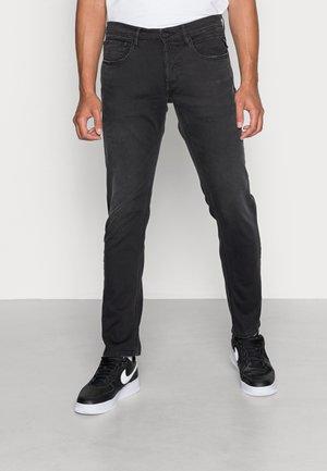 WILLBI LITE PLUS - Jeans straight leg - black