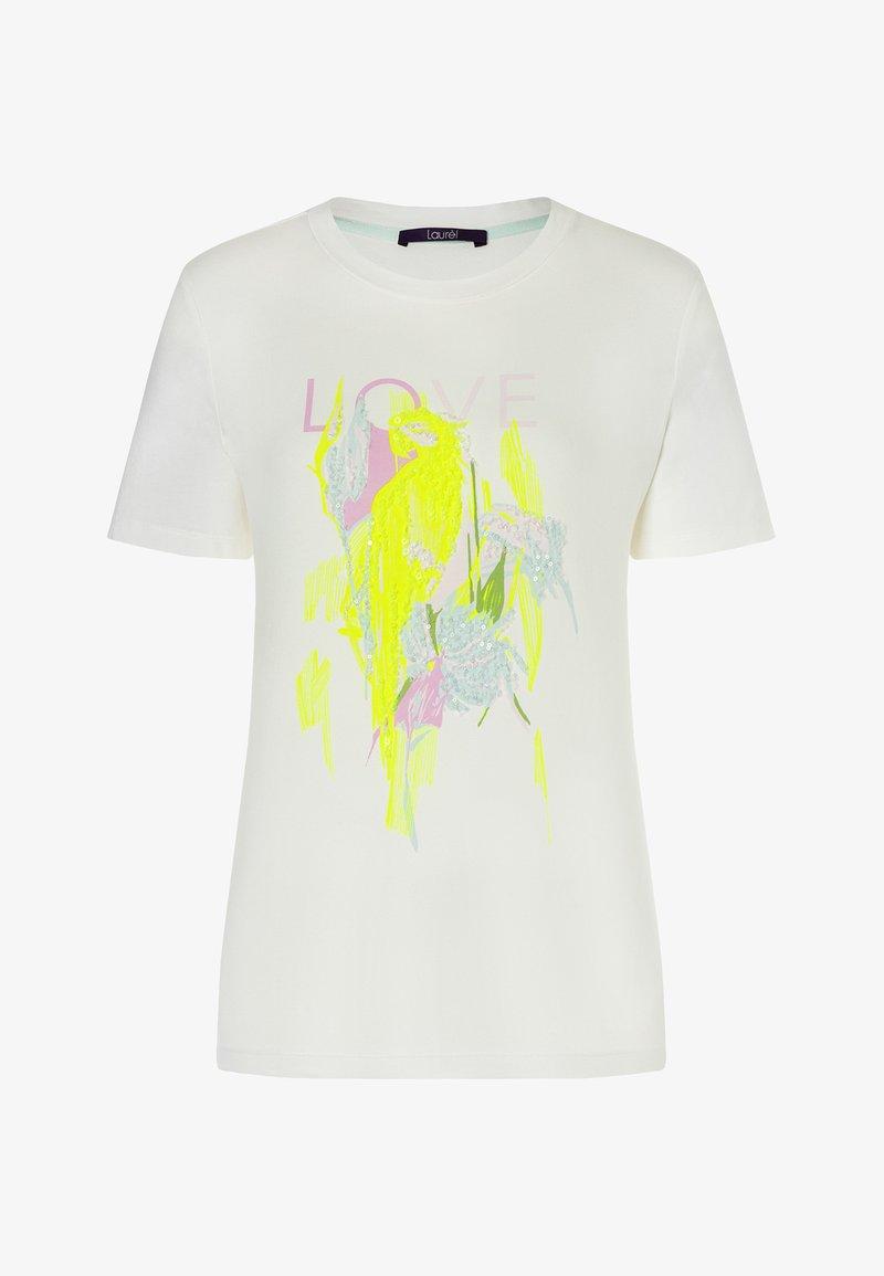 Laurel - Print T-shirt - off-white